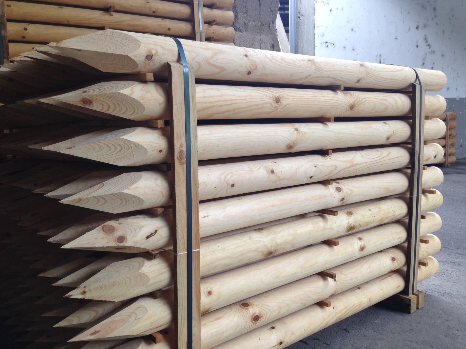 estacas de pino